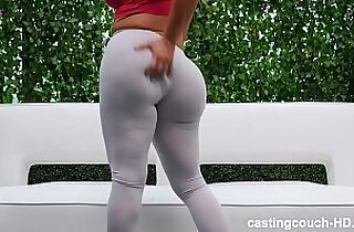 thick ass white girl piped round two
