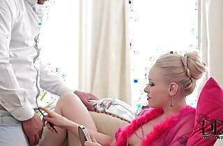Amazing Blonde Newbie Baby L Gets Her Mouth Fucked