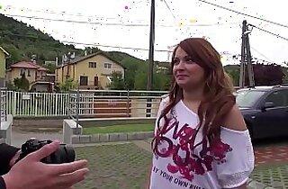 MAGMA FILM Casting Romanian Redhead Amateur asian Teen