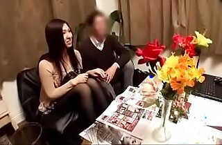 hidden Camera beautiful japanese girl massage