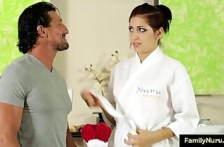 Father daughter sex massage porn