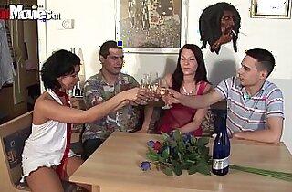 German asian Teen Swing Party