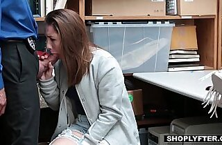 Shoplyfter Cute amateur Teen Fucks Her Way Out Of Trouble