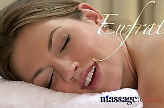 Massage Rooms Hot pebbles sensual foreplay ends in