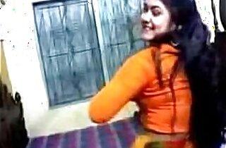 Bangladeshi Girl is Showing Her Asset Nipa