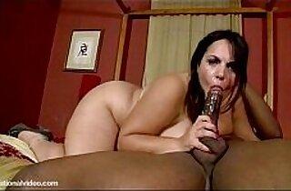 Plump Babe Jane Kush Swallows and Fucks Black Cock