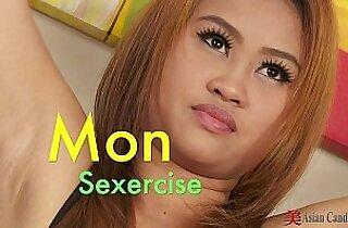 Asian Cutie Mon Solo Sexercise