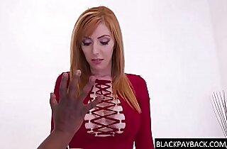 Big boobed redhead fucked by BBC