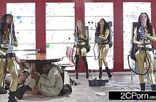 Ghostbusters Orgy Ana Foxxx, Monique Alexander, Nikki Benz, Romi Rain