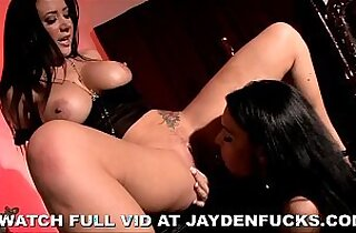 Jayden Jaymes and Jessica Jaymes Lesbian Encounter