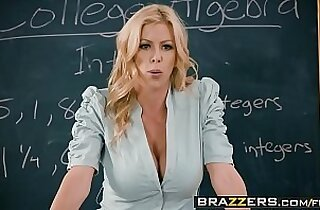Big Tits at School College Dreams scene starring Alexis Fawx Bailey Brooke Danny