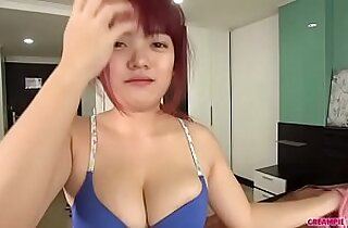 I grabbed her boobs. Creampied. Sperm flowed out.