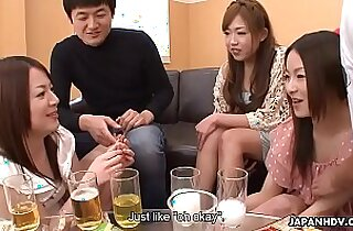 Creaming Asian sluts as the party gets heated up