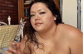 amateur sex, BBW, brunette, fatty, giant titties, hubby xxx, latino, masturbating