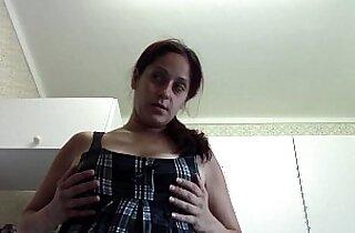 bedroom, boobs, Giant boob, giant titties, mom xxx, POV, tits
