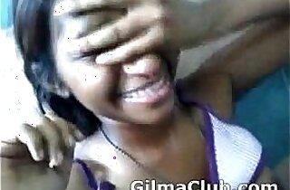 Tamil girl giving blowjob