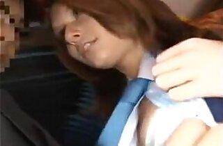 Schoolgirl Sex In A Bus