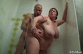 He seduces huge ass plumper