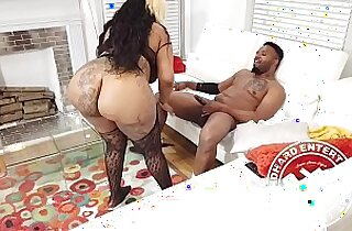 Chocolate Azz Huge Monster Booty Pounded Promo