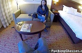 Fucking Glasses Hotel room spy glasses fuck Jade Jantzen teen porn