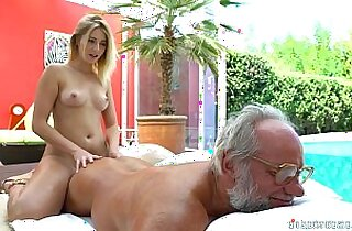 Aria Logan and her much older friend Fuck Teens