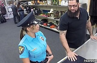 Fucking Ms. Police Officer XXX Pawn
