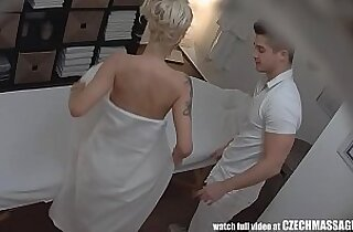 Beautiful Big Tits Blonde Czech Massage